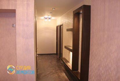 Капитальный ремонт квартиры 32 кв.м. коридор