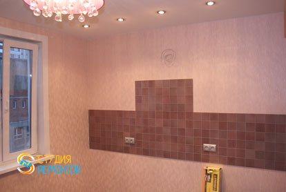 Капитальный ремонт квартиры 32 кв.м. кухня