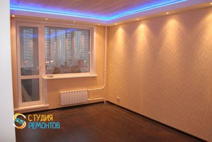 Капитальный ремонт квартиры 32 кв.м. спальня