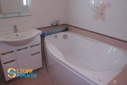 Капитальный ремонт квартиры 32 кв.м. ванная комната фото-1