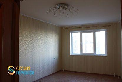 Капремонт квартиры 32 кв.м. спальня фото-2