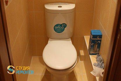 Капремонт квартиры 32 кв.м. туалет