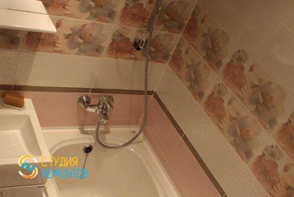 Капремонт квартиры 32 кв.м. ванная комната фото-2
