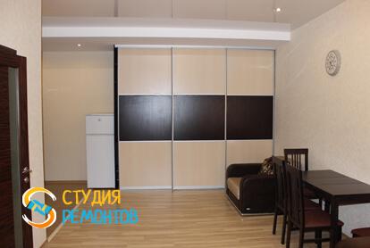 Капитальный ремонт комнаты в квартире 33 кв.м.