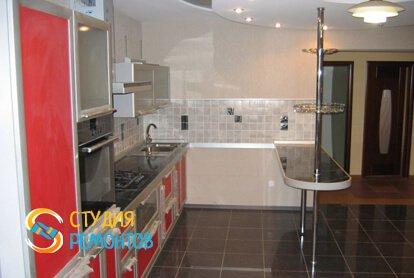 Капитальный ремонт кухонной зоны в квартире 33 кв.м.
