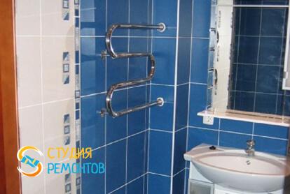 Капитальный ремонт ванной комнаты в квартире 33 кв.м. фото 1