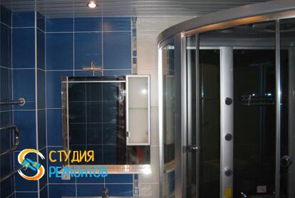 Капитальный ремонт ванной комнаты в квартире 33 кв.м. фото 2