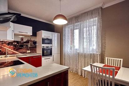 Капитальный ремонт квартиры 34 кв.м. Кухня, фото-1