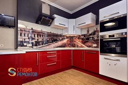 Капитальный ремонт квартиры 34 кв.м. Кухня, фото-2