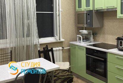 Капитальный ремонт кухни в квартире 35 кв.м. фото 1
