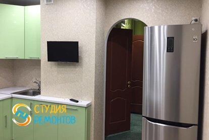 Капитальный ремонт кухни в квартире 35 кв.м. фото 2