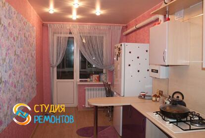Капитальный ремонт кухонной комнаты в квартире 35 кв.м.