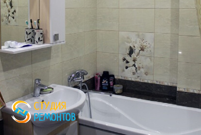 Капитальный ремонт санузла в квартире 35 кв.м. фото 1