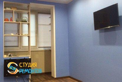 Капитальный ремонт спальни в квартире 35 кв.м. фото 2