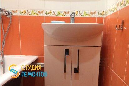 Капитальный ремонт ванной в квартире 35 кв.м. фото 1