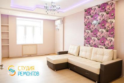 Евроремонт комнаты в квартире 36 кв.м. фото 2