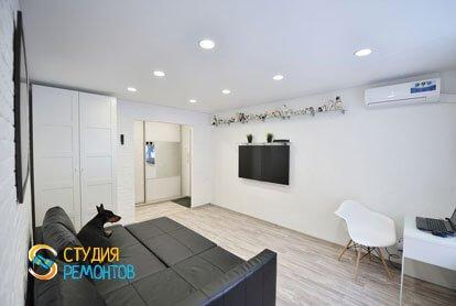 Евроремонт комнаты в квартире 36 м2 фото 2