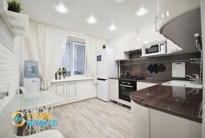 Евроремонт кухни в квартире 36 м2 фото 1