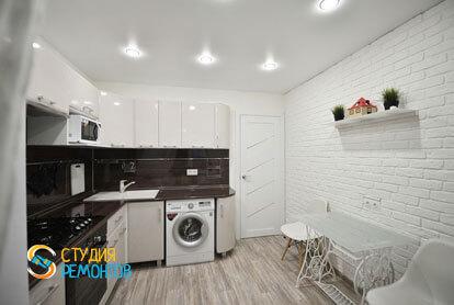 Евроремонт кухни в квартире 36 м2 фото 3