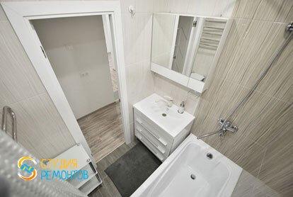 Евроремонт ванной в квартире 36 м2