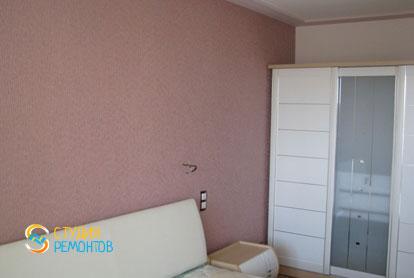 Капитальный ремонт спальни в квартире 36 кв.м. фото 1