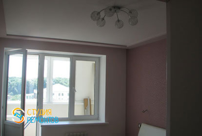 Капитальный ремонт спальни в квартире 36 кв.м. фото 2