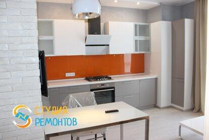 Евроремонт кухни в квартире 37 кв.м.