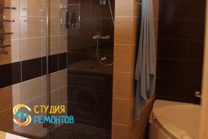 Евроремонт совмещенного санузла в квартире 37 кв.м. фото 1