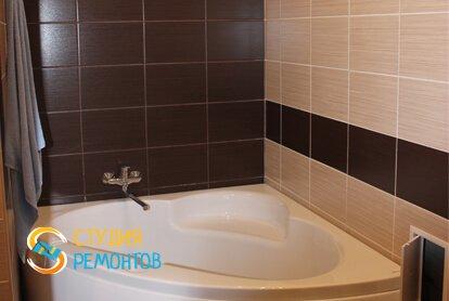 Евроремонт совмещенного санузла в квартире 37 кв.м. фото 2