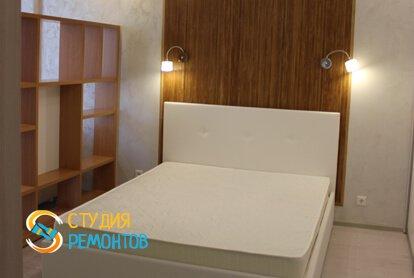 Евроремонт спальни в квартире 37 кв.м. фото 1
