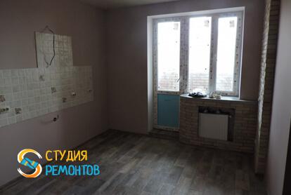 Капитальный ремонт кухни в квартире 37 кв.м. фото 1