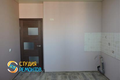 Капитальный ремонт кухни в квартире 37 кв.м. фото 2