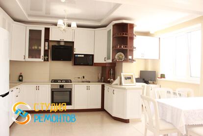 Капитальный ремонт кухонной комнаты в квартире 37 м2