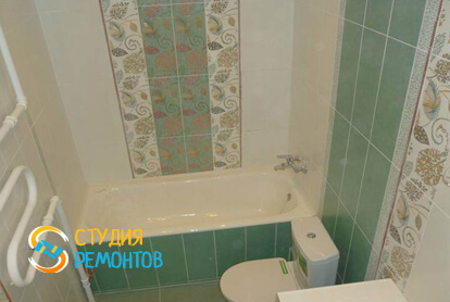 Капитальный ремонт совмещенного санузла в квартире 37 м2 фото 1