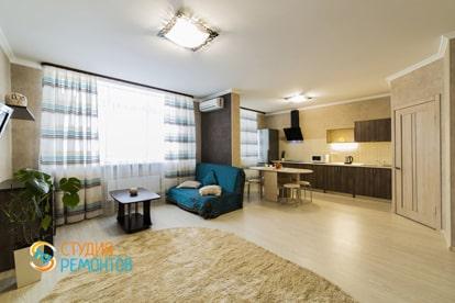 Евроремонт спальной комнаты в квартире 38 кв.м.