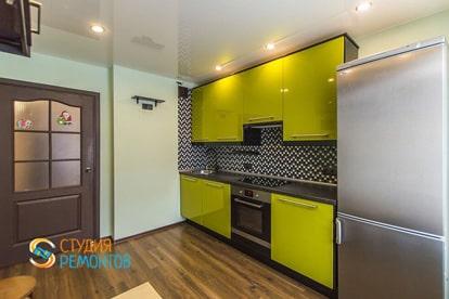 Капитальный ремонт кухни в квартире 38 кв.м.