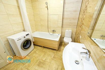 Капитальный ремонт санузла в квартире 38 кв.м. фото 1