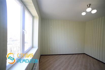 Косметический ремонт гостинной комнаты в квартире 40 м2 фото 1