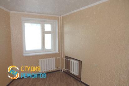 Косметический ремонт гостинной в квартире 40 кв.м. фото 2