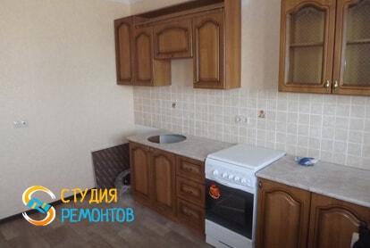 Косметический ремонт кухни в квартире 40 кв.м. фото 1