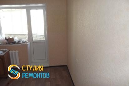 Косметический ремонт кухни в квартире 40 кв.м. фото 2