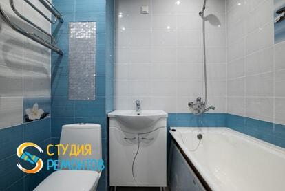 Косметический ремонт санузла в квартире 40 м2