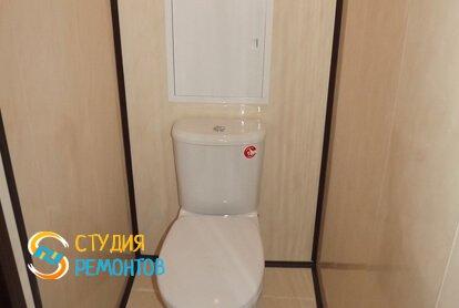 Косметический ремонт туалета в квартире 40 кв.м.