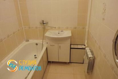 Косметический ремонт ванной в квартире 40 кв.м.