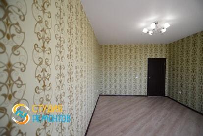 Косметический ремонт жилой комнаты в квартире 40 м2 фото 2