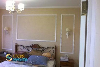 Евроремонт спальни в квартире 42 м2
