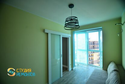 Евроремонт квартиры 43 кв.м. Гостиной, фото-2