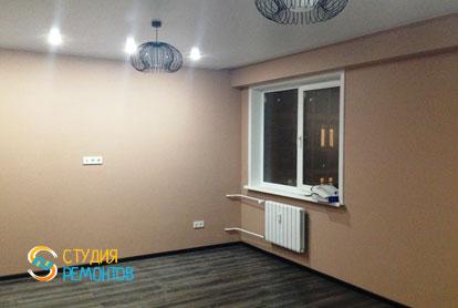 Капитальный ремонт квартиры 43 кв.м. Кухня-зал, фото-2
