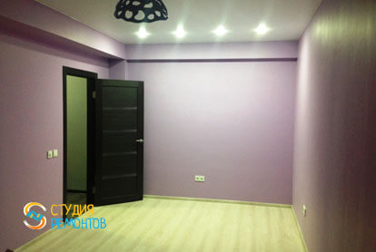 Капитальный ремонт квартиры 43 кв.м. Спальня, фото-2
