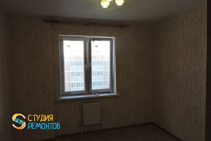 Косметический ремонт квартиры 43 кв.м. Комната